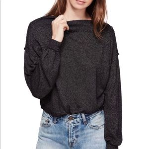 NWT ✨ Free People Boat Neck sweater
